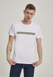 Pánske tričko MERCHCODE Banksy Officer Tee Farba: white,