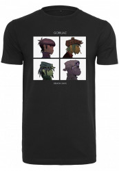 Pánske tričko MERCHCODE Gorillaz Demon Days Tee Farba: black,