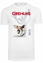Pánske tričko MERCHCODE Gremlins Poster Tee Farba: white,