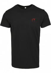Pánske tričko MERCHCODE IT Logo Clown Tee Farba: black,