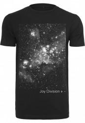 Pánske tričko MERCHCODE Joy Division + - Tee Farba: black,