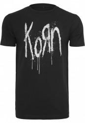 Pánske tričko MERCHCODE Korn Still A Freak Tee Farba: black,
