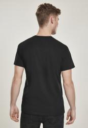 Pánske tričko MERCHCODE Lion King Logo Tee Farba: black, #1