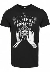 Pánske tričko MERCHCODE My Chemical Romance Pyramid Tee Farba: black,