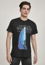 Pánske tričko Merchcode Star Wars Laser Tee Farba: black,