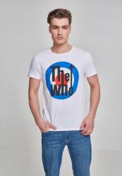 Pánske tričko MERCHCODE The Who Classic Target Tee Farba: white,