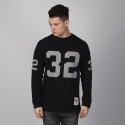 Pánske tričko Mitchell & Ness longsleeve Los Angeles Raiders black Name & Number LS