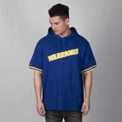 Pánske tričko Mitchell & Ness sweatshirt French Terry Hooded royal Golden State Warriors