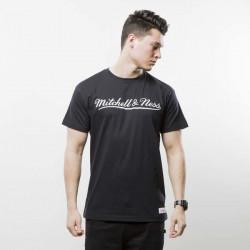 Pánske tričko Mitchell & Ness t-shirt Own Brand black / white M&N Script Logo