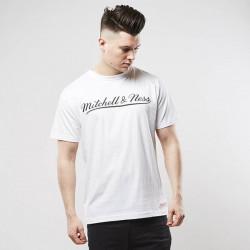Pánske tričko Mitchell & Ness t-shirt Own Brand white / black M&N Script Logo