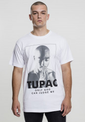 Pánske tričko MR.TEE 2Pac Prayer Tee Farba: white,