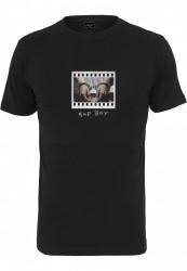 Pánske tričko MR.TEE Bad Boy Handcuffs Farba: black, Grösse: XXL