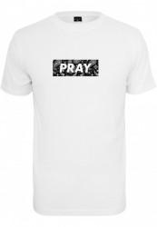 Pánske tričko MR.TEE Bandana Box Pray Tee Farba: white, Grösse: XXL