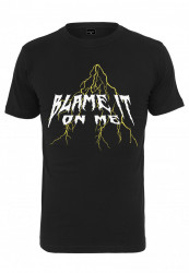 Pánske tričko MR.TEE Blame It Tee Farba: black,