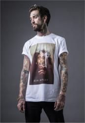 Pánske tričko MR.TEE Bob Marley Smoke Tee Farba: white,