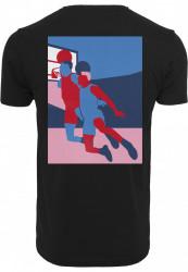 Pánske tričko MR.TEE Colored Basketball Player Tee Farba: black, #1