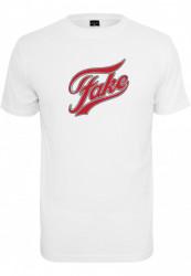 Pánske tričko MR.TEE Fake Tee Farba: white, Grösse: XXL