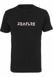 Pánske tričko MR.TEE Feature Tee Farba: black, Grösse: XXL