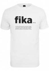 Pánske tričko MR.TEE Fika Definition Tee Farba: white,