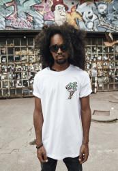Pánske tričko MR.TEE Flamingo Tee Farba: white,