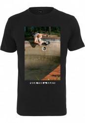 Pánske tričko MR.TEE Fuck You & Skate Tee Farba: black,