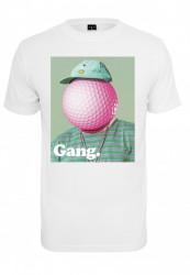 Pánske tričko MR.TEE Golf Gang Tee Farba: white, Grösse: XXL