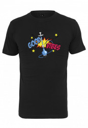 Pánske tričko MR.TEE Good Vibes Tee Farba: black, Grösse: XXL