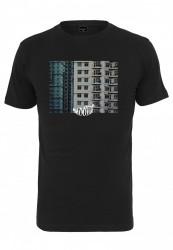 Pánske tričko MR.TEE Hood Tee Farba: black, Grösse: XXL