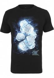 Pánske tričko MR.TEE Ice Rings Tee Farba: black, Grösse: XXL