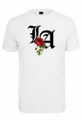 Pánske tričko MR.TEE LA Rose Tee Farba: white,