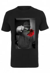 Pánske tričko MR.TEE Mister Tee Pistol Rose Tee Farba: black,