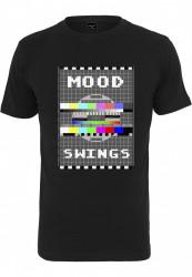 Pánske tričko MR.TEE Mood Swings Tee Farba: black,