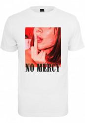 Pánske tričko MR.TEE No Mercy Tee Farba: white,