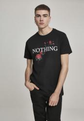 Pánske tričko MR.TEE Nothing Rose Tee Farba: black,