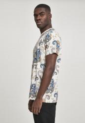 Pánske tričko MR.TEE Paisley Tee Farba: sand, #1