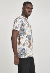 Pánske tričko MR.TEE Paisley Tee Farba: sand, #2