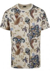 Pánske tričko MR.TEE Paisley Tee Farba: sand, #4