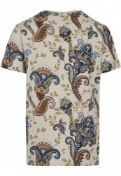 Pánske tričko MR.TEE Paisley Tee Farba: sand, #5