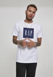 Pánske tričko MR.TEE Rap Tee Farba: white,
