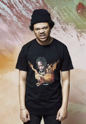 Pánske tričko MR.TEE Sickomode Eagle Tee Farba: black,