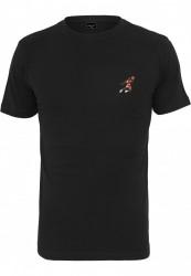 Pánske tričko MR.TEE Small Basketball Player Farba: black,