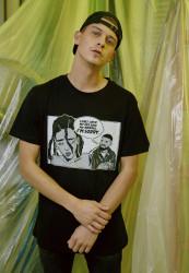 Pánske tričko MR.TEE Sorry Tee Farba: black,