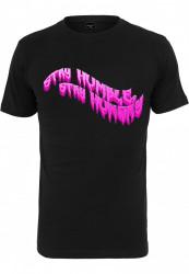 Pánske tričko MR.TEE Stay Hungry Tee Farba: black, Grösse: XXL