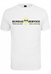 Pánske tričko MR.TEE Sunday Service Tee Farba: white,