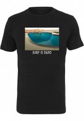 Pánske tričko MR.TEE Surf Is Dead Tee black Farba: black,