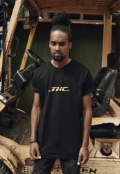 Pánske tričko MR.TEE THC Farba: black,
