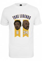 Pánske tričko MR.TEE True Legends 2.0 Tee Farba: white,