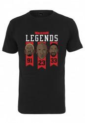 Pánske tričko MR.TEE True Legends Tee Farba: black, Grösse: XS