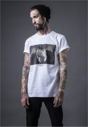 Pánske tričko MR.TEE Trust Tee Farba: white,