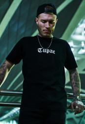 Pánske tričko MR.TEE Tupac Back Tee Farba: black,